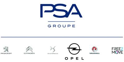 PSA Group in der nun auch die Marke Opel integriert ist