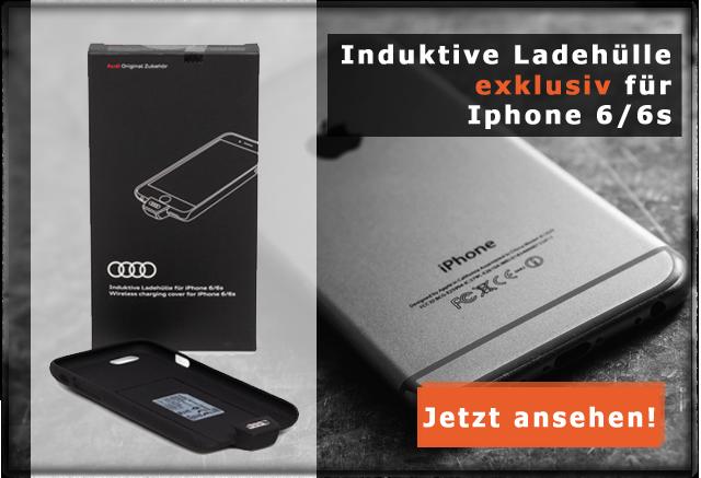 Audi induktive Ladehülle für Iphone 6/6s 8W0051435