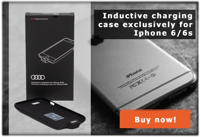 Audi inductive charging case for Iphone 6/6s 8W0051435